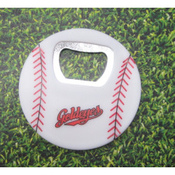 Baseball Bottle Opener
