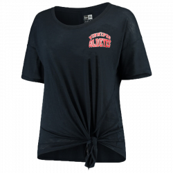 LADIES NEW ERA TIE T-SHIRT