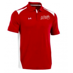 MENS RED UNDER ARMOUR GOLF...