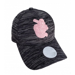 WOMENS GRAPHITE PINK CAP