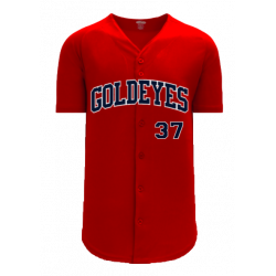 2020 RED GAME WORN JERSEY