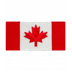 CANADA FLAG PATCH FOR JERSEY